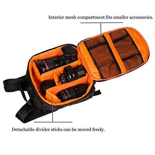 WANT -  Camera Backpack DSLR SLR Camera Bag Camera Case Waterproof for Canon