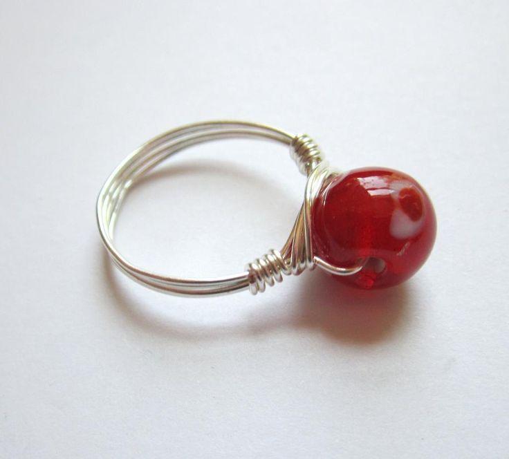 103 besten wire rings Bilder auf Pinterest | Drahtumwickelte ringe ...