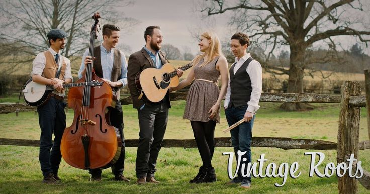 Vintage Roots are a Hampshire based vintage Mumford & Sons style wedding…
