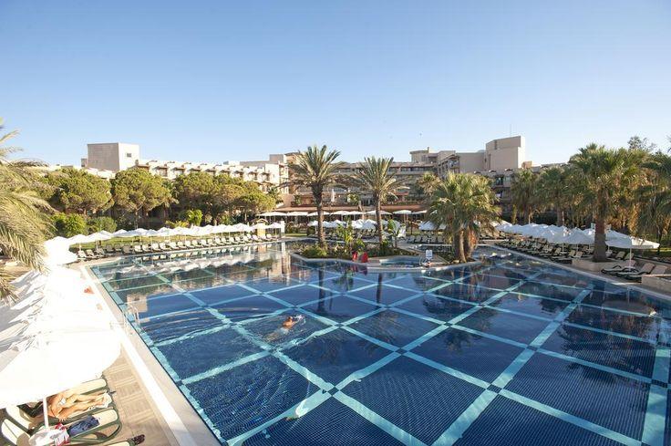 Hotel Crystal Tat Beach Golf Resort and Spa - Antalya Coast #HotelDirect info: HotelDirect.com