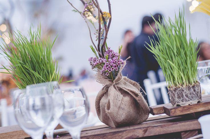 Arreglo de Flores de las mesas / Flowers Arrangement tables