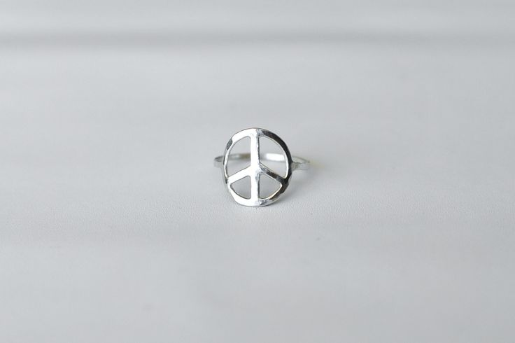 Kelly Sui - Peace on Earth – Silver Ring. Handmade sterling silver jewelry.