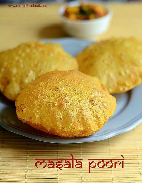 Gujarati masala puri recipe - Breakfast cum snack recipe