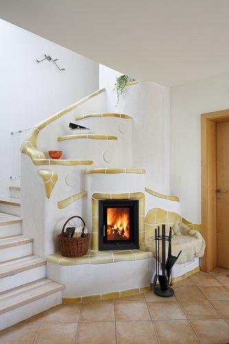 Speicherofen By Dkob Kachelofen Stove Fireplace Wood