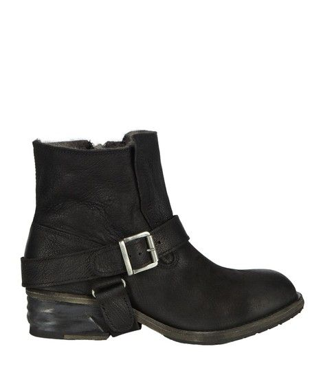 All Saints - Jules Shearling Boots (worn by Clara Oswald - Doctor Who)