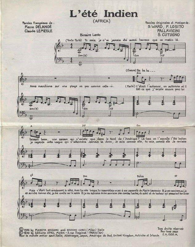 Blue Country - La Discographie de Joe Dassin: Tablatures et Partitions