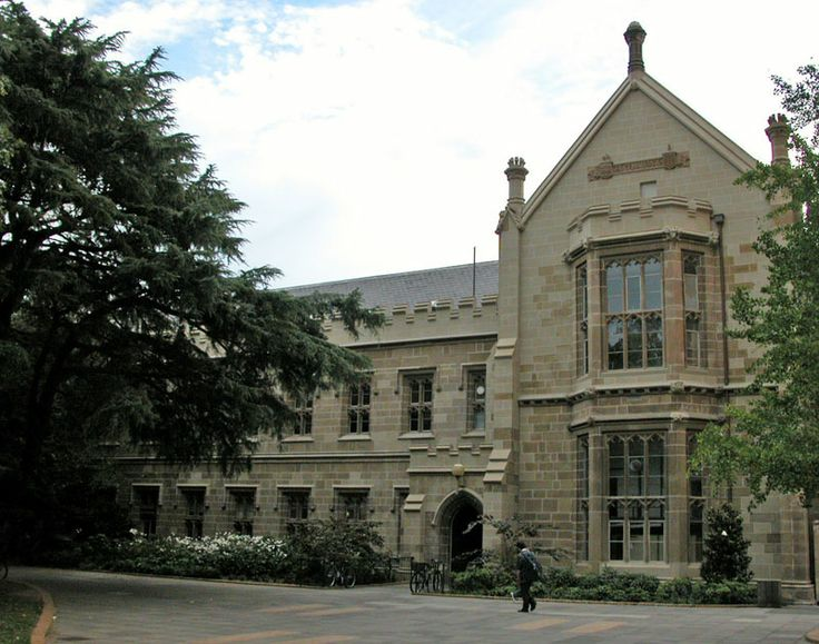 The Old Arts Building (Melbourne University).