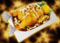 Stuffing Chicken With Mushroom Sauce  Ala Filma