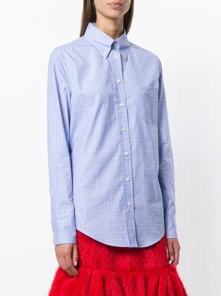 Prada Hemd mit Button-Down-Kragen