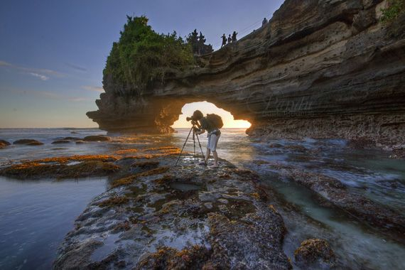 "What to Know Before You Pursue a Photography Career – PictureCorrect.  Author: Max Rout. Photo: ""Pro at Work at Batubolong"" captured by Pandu Adnyana. http://www.picturecorrect.com/tips/what-to-know-before-you-pursue-a-photography-career/"