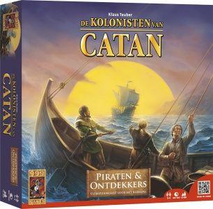 De vierde grote uitbreiding op het populairste bordspel van de afgelopen decennia. Met verschillende scenario's, die stap voor stap de nieuwe spelregels introduceren. In deze uitbreiding staat het ontdekken van nieuwe gebieden centraal.   http://www.planethappy.nl/999-games-kolonisten-van-catan-piraten-en-ontdekke.html
