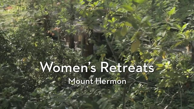 mount hermon women A perfect blend of all the right ingredients for a women's retreat: a beautiful environment, compelling worship, engaging teaching, genuine conversation and fellowship with just enough.