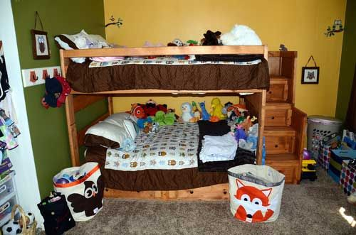 80 inch kids bunk beds with 62 percent off discount and amber finish wood
