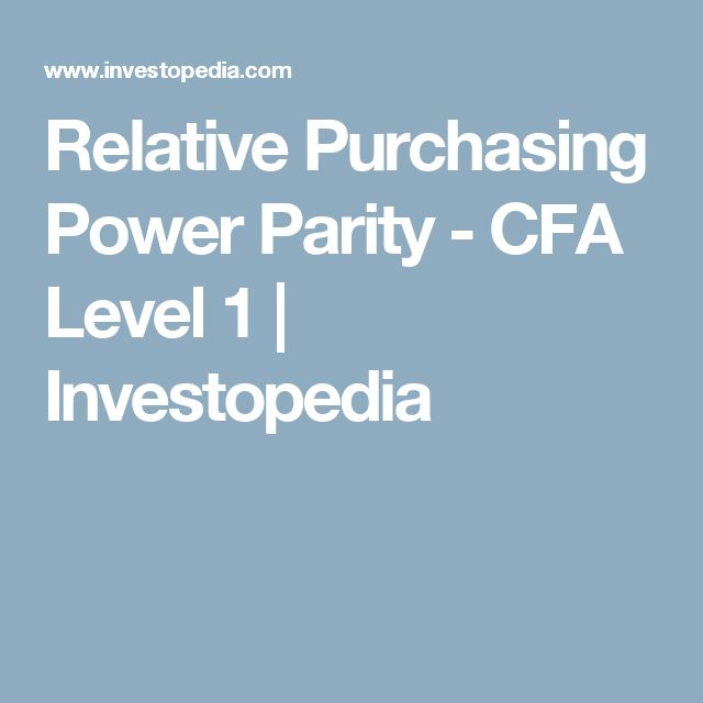 purchasing power parity analysis How can purchasing power parity affect your trading whilst there are many traders who solely rely on technical analysis, the most consistently profitable ones also.