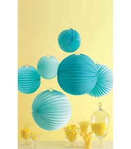 Martha Stewart Crafts Celebrate Accordian Lanterns - 6PK/Blue: martha stewart crafts - party decor & crafting: martha stewart crafts: scrapbooking: Shop | Joann.com
