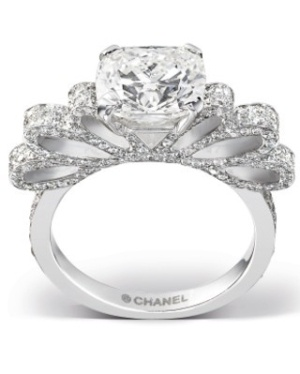 Chanel engagement ring! Oh good god, I would be in heaven.
