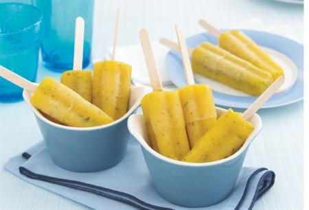 Mästerkocken - recept på isglass med tropiska smaker