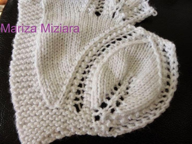 marizamiziara: Folha de tricô