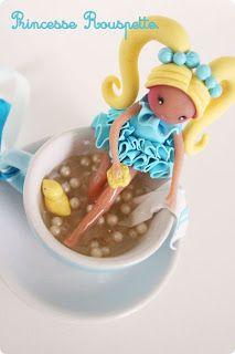 Princesse rouspette: Les tasses de Princesse Rouspette.