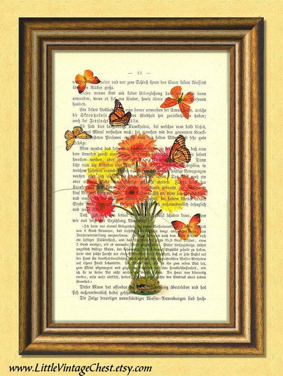 GERBER  Dictionary art print Vintage book by littlevintagechest, $7.99