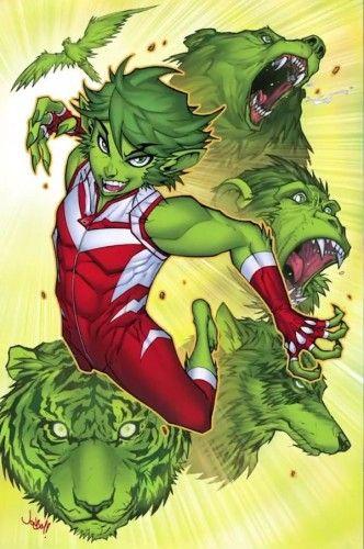 Teen Titans Beast Boy Changeling concept art DC Rebirth