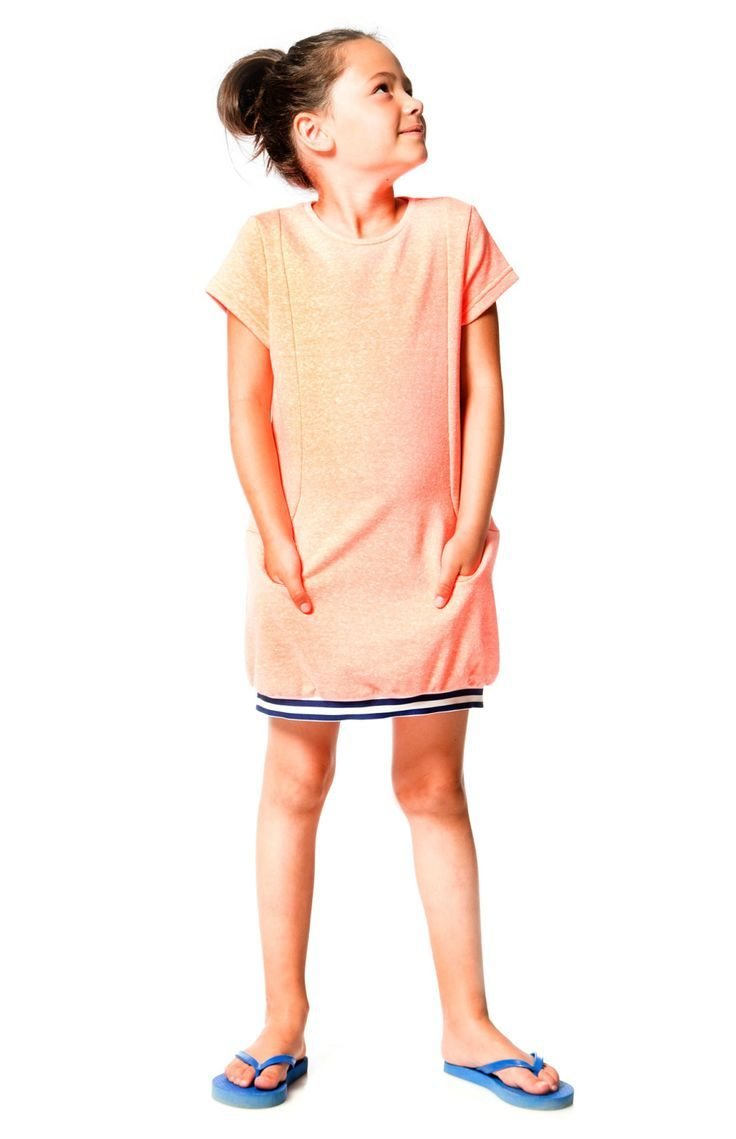 Your most casual days will be cute as can be with the Cold Press Fashion French Terry Dress. This little sweatshirt dress is made from soft cotton/poly French terry and features a sporty silhouette with short sleeves Shop now at deuxpardeux.com #kidsstyle #dress #littlegirl #kidsfashion #littleboy #kidswear Follow our Pinterest page at @deuxpardeuxKIDS