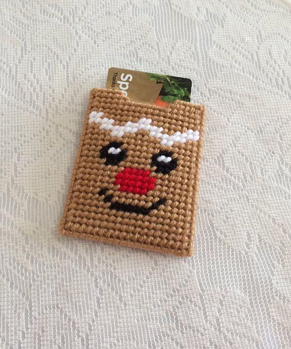 Gingerbreadman Gift Card Holder