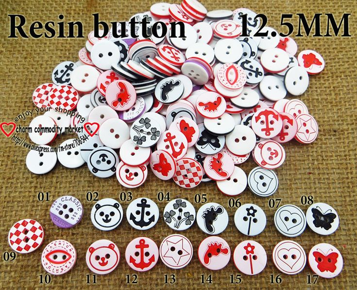 200PCS children buttons mixed  sewing accessories button craft 2 hole R-053 $3,73