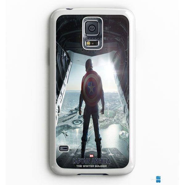 Captain America Winter Soldier Poster Samsung Galaxy S7 Edge Case Aneend