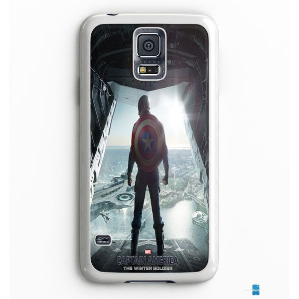 Captain America Winter Soldier Poster Samsung Galaxy S7 Edge Case Aneend