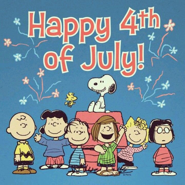 **   Happy 4th of July!   **                                              The Peanuts Gang