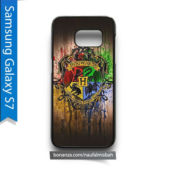 Hogwarts Harry Potter on Wood Samsung Galaxy S7 Case Cover