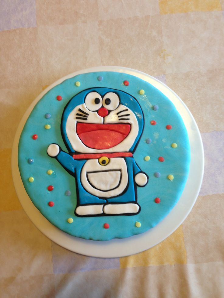Doraemon Birthday Cake Images : 1000+ ideas about Doraemon Cake on Pinterest Cakes ...