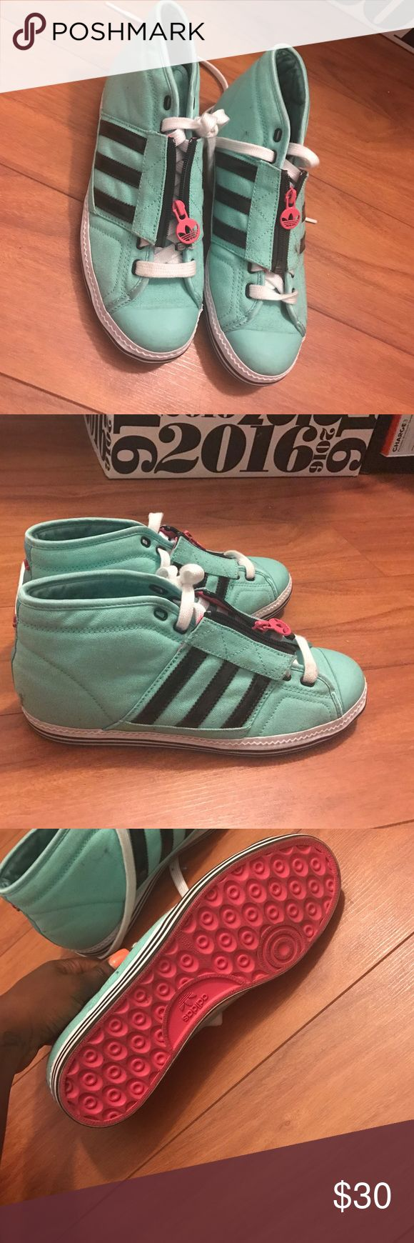 25 best ideas about pink adidas shoes on