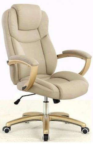Cadeira Escritório Presidente Alta Reclinável Couro  Preço: R$850 Cadeira Escritório Presidente Alta Reclinável Couro Marca: TOP SEAT Original