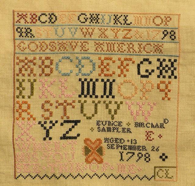 Eunice Birchard (con imágenes) Punto de cruz, Puntos, Cruz