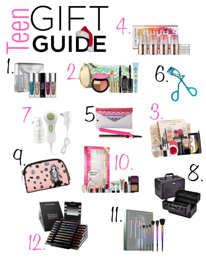 Teen Holiday Gift Guide featuring products from Sephora.com Our top 12 teenage girl gifts, to bring a smile to your daughter's face this holiday season. #giftguide