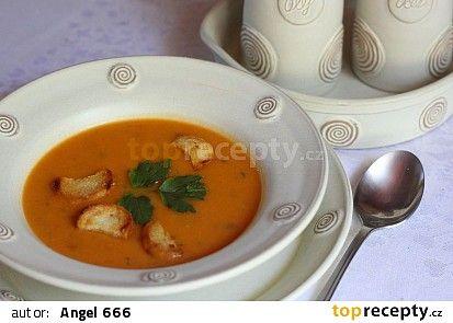 Bruselská zeleninová polévka recept (celer,petržel,brambory,libeček)