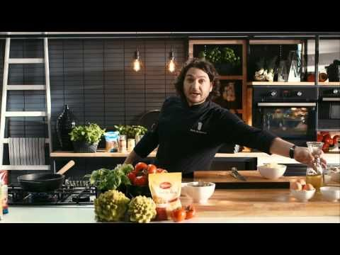 Pui intreg la cuptor cu fondue de cascaval • Bucataria Lidl cu Chef Florin - YouTube