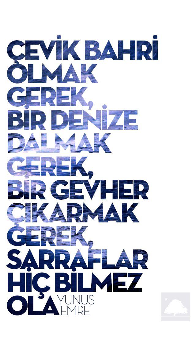 Yunus Emre : Çevik bahri olmak gerek... - Anadolu Çınarları poster