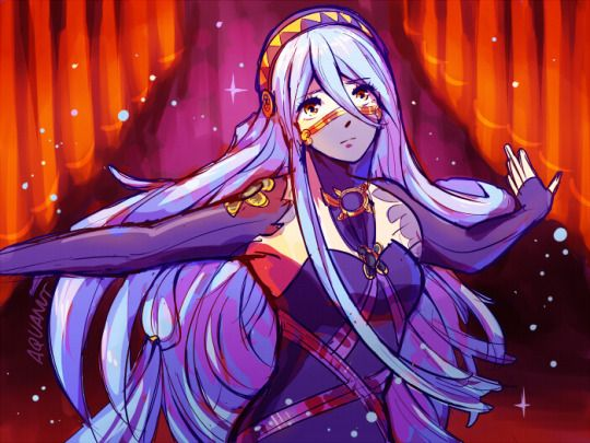 Throwback to when Fire Emblem Fates was just announced and everyone was talking about this mysterious beauty <3