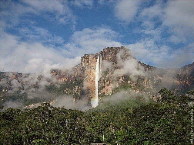 Водопад Анхель, Венесуэла / Angel Falls, Venezuela