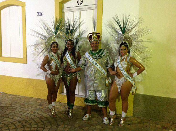 Rei Momo, Rainha e Princesas do melhor carnaval do Litoral Norte de São Paulo. São Sebastião - Bonita o tempo todo!