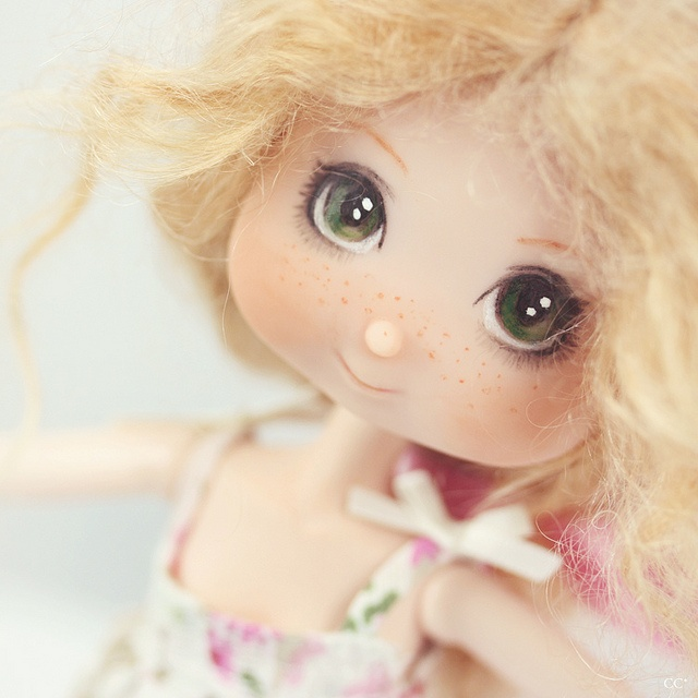 Ginger* by ♥ ribonita & chocolat ♥ - busy oh so busy!, via Flickr Love the eyes