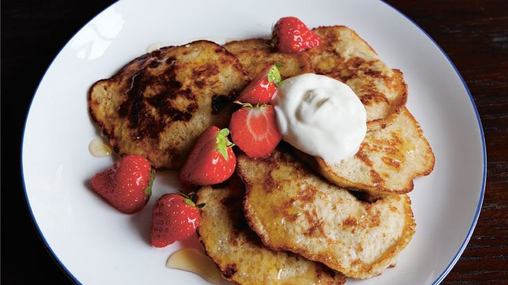 Recept på bananpannkaka från hälsoappen Wellie. Passar lika bra som frukost som snabblunch. De är dessutom precis lika goda när de är kalla.