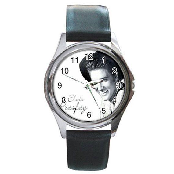 History ELVIS PRESLEY 1960'S Round Metal Watch by jordaakbarjung