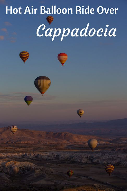 A Cappadocia balloon ride with Sultan Balloons.