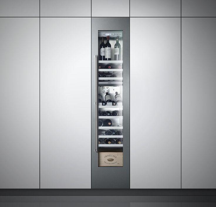 Weinschrank - Schöne Lösung wenn in der Küche integriert (Gaggenau)