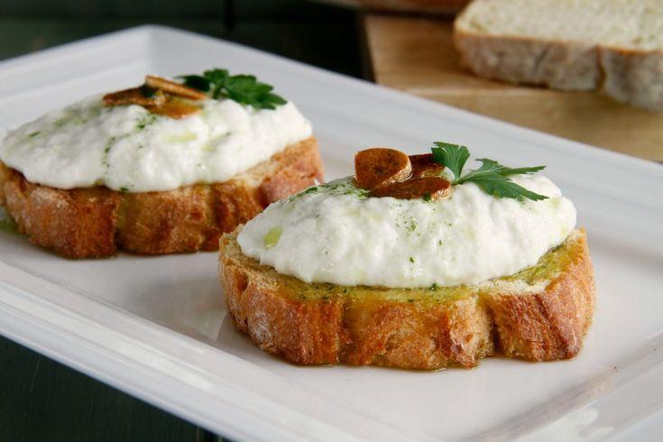 Brandada de bacalao, pan rústico y aceite de perejil - MisThermorecetas
