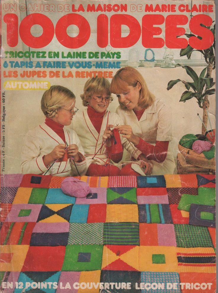 Tricots et cuisine de 100 Idées: 100 Idées de 1973